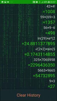 Hacker Calculator : No Ads, No permission screenshot 2