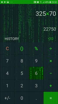 Hacker Calculator : No Ads, No permission screenshot 5