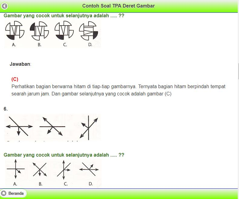 Tes Potensi Akademik Tpa Offline For Android Apk Download