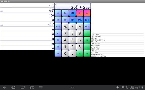 Board Calc Trial version screenshot 7