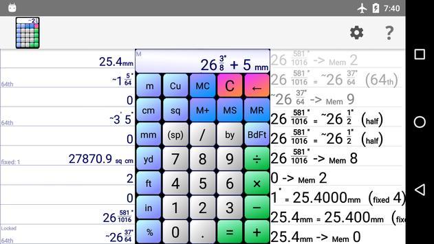 Board Calc Trial version screenshot 5