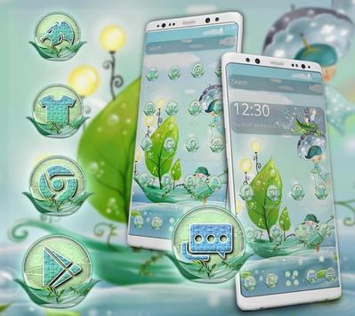 Green Boat Painting Theme screenshot 5