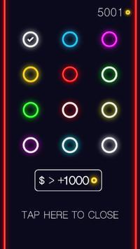 Neon Zen Plakat