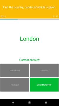 Europe Map Quiz screenshot 4