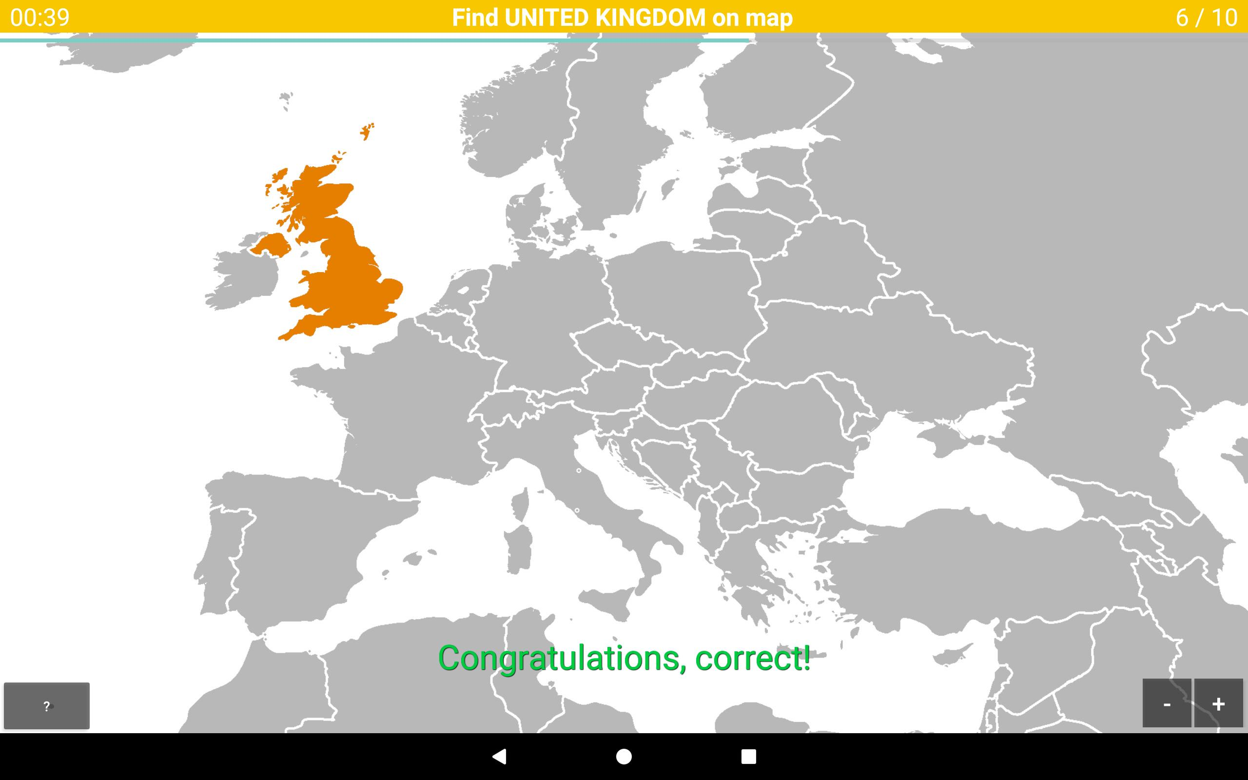 Europe Map Quiz for Android - APK Download