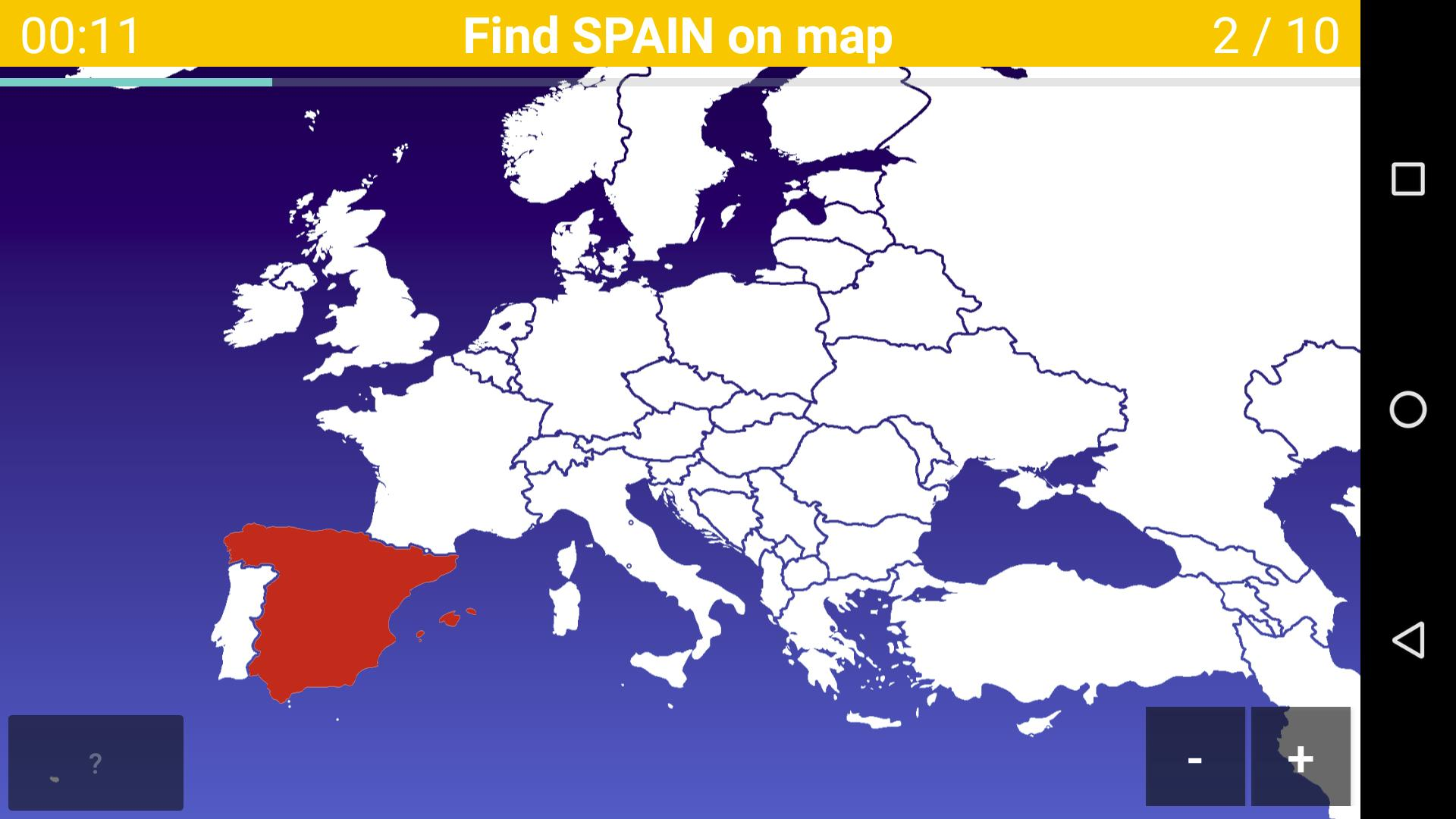 Map Of Spain Quiz.Europe Map Quiz For Android Apk Download