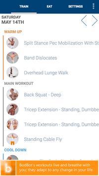 Personal Weightlifting Workout Ekran Görüntüsü 1