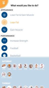 Personal Weightlifting Workout Ekran Görüntüsü 2