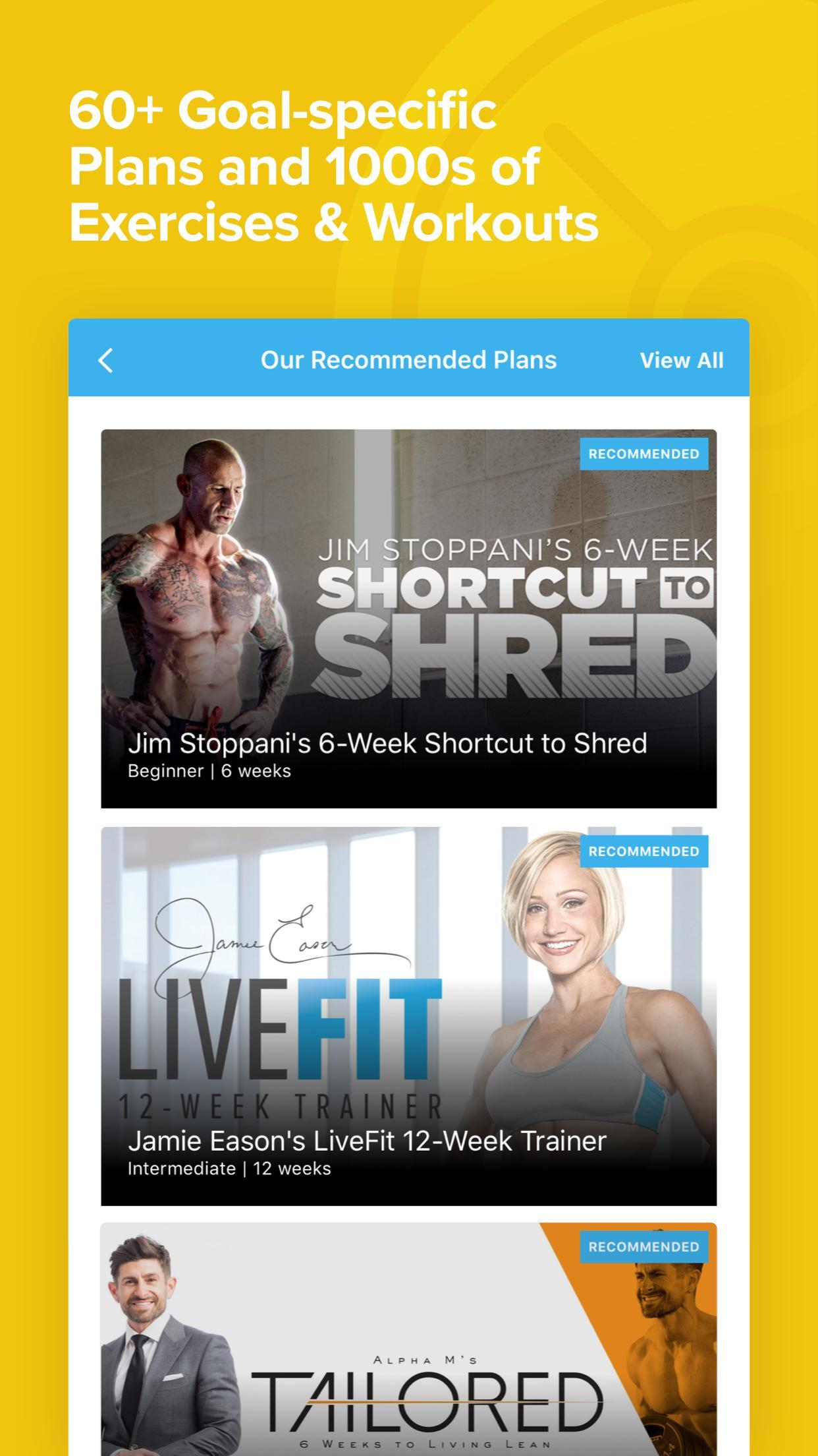 Bodybuilding com All Access: Workouts & Training for Android