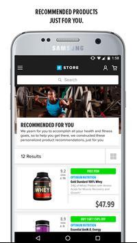 Bodybuilding.com Store تصوير الشاشة 1