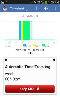 Geofence Location Time Tracking & Timesheet 포스터