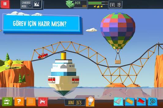 Build a Bridge! Ekran Görüntüsü 5