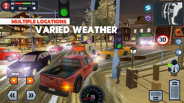 3 Schermata Car Driving School Simulator