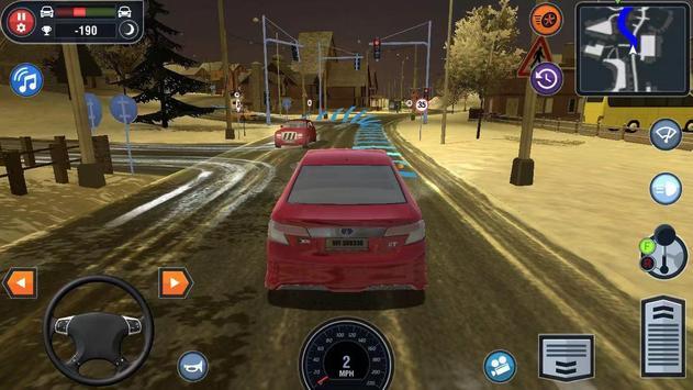 Poster Car Driving School Simulator