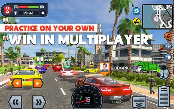 Car Driving School Simulator ảnh chụp màn hình 19