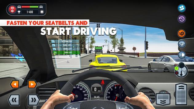 2 Schermata Car Driving School Simulator