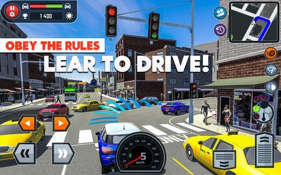 Car Driving School Simulator ảnh chụp màn hình 7