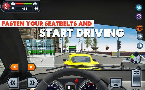 Car Driving School Simulator ảnh chụp màn hình 9