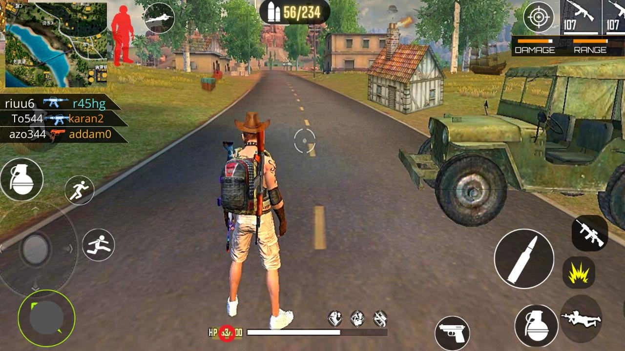 3d Squad Free Fire Battleground Team Shooter 2021 For Android Apk Download