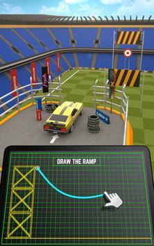 Ramp Car Jumping تصوير الشاشة 13