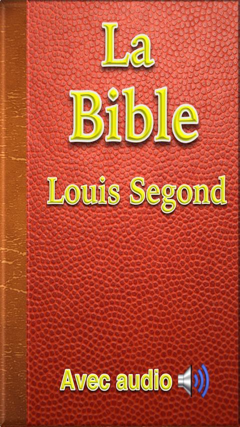 LOUIS SAINTE TÉLÉCHARGER LA SEGOND 1910 BIBLE