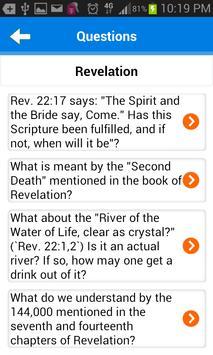 Bible Questions & Answers FAQ screenshot 2