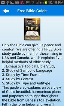 Bible Questions & Answers FAQ screenshot 5