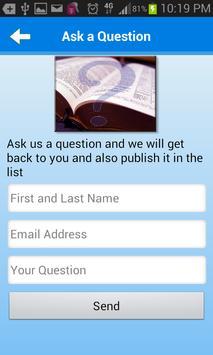 Bible Questions & Answers FAQ screenshot 6