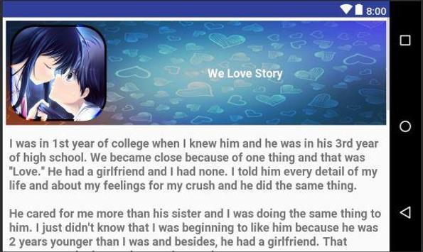 Romantic Love Story screenshot 3