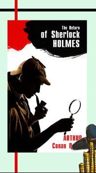 The Return of Sherlock Holmes - Arthur Conan Doyle poster
