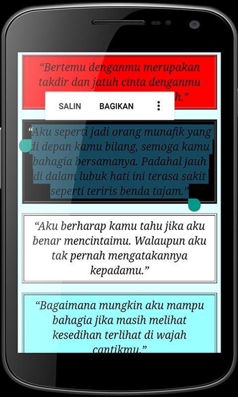Kata Bijak Jomblo Agar Tampak Berwibawa Für Android Apk