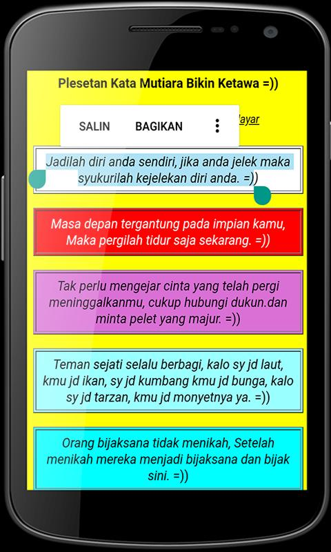 Kata Kata Motivasi Lucu For Android Apk Download