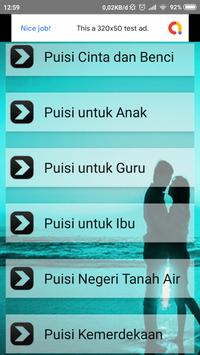 Puisi screenshot 1