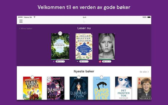 BookBites Bibliotek screenshot 4