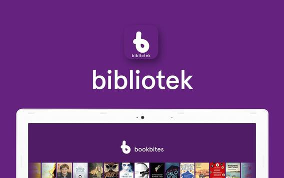 BookBites Bibliotek screenshot 3
