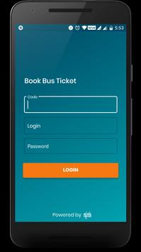 Book Bus Ticket poster
