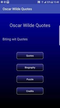 Oscar Wilde Quotes poster