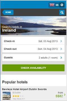 Ireland Hotel 80% Discount poster