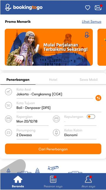 Bookingtogo Booking Tiket Pesawat Murah To Go For Android Apk Download