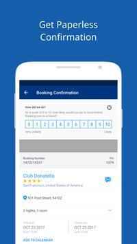 Booking.com captura de pantalla 1