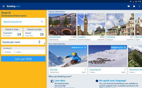 Booking.com imagem de tela 5