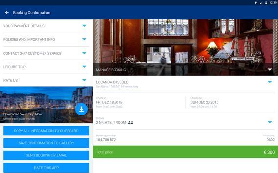 Booking.com captura de pantalla 7