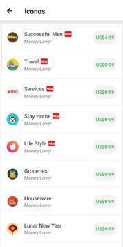 Money Lover captura de pantalla 7