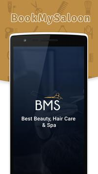 Book My Saloon-beauty care  spa poster