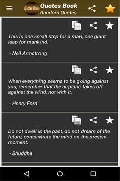 Quotes Book screenshot 2