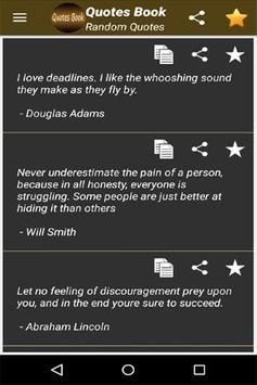 Quotes Book screenshot 4
