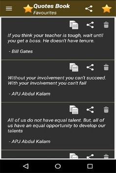 Quotes Book screenshot 6