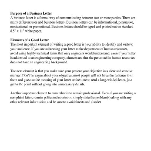 Addressing Business Letter.Business Letter Format For Android Apk Download