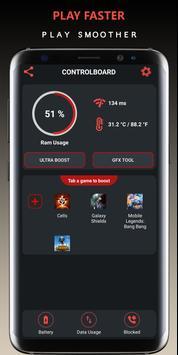 Game Booster VIP - GFX- Lag Fix poster