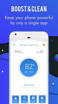 Starlight Cleaner-手機清理工具和加速器 海报